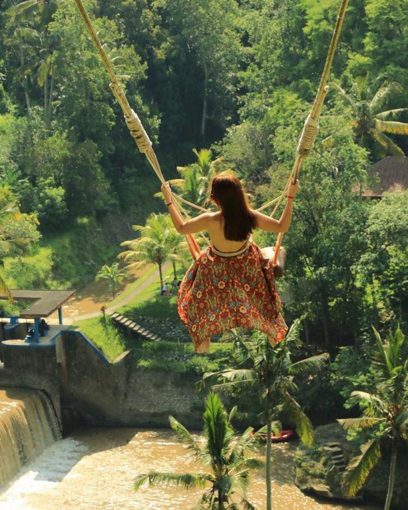 Cảm giác kích thích khi đi Bali Swing Ubud
